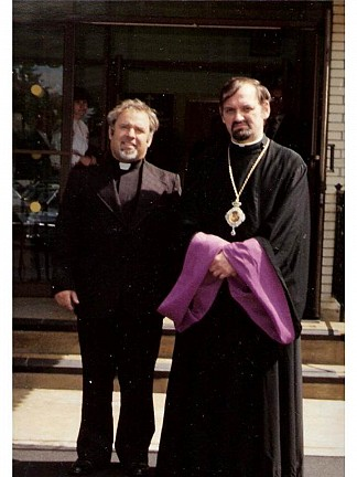 Fr. Sytnyk & Metropolitan Constantine
