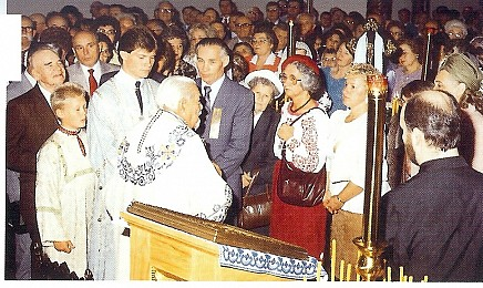 Greeting The Patriarch Mstyslav 1